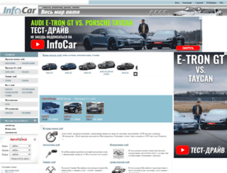 audi.infocar.com.ua screenshot