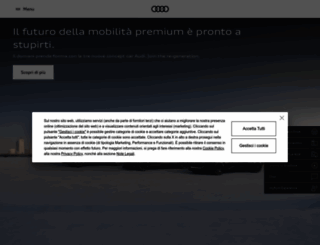 audi.it screenshot