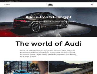 audi.kz screenshot