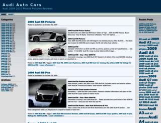audia4cars.wordpress.com screenshot