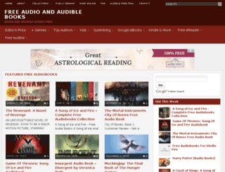 audibleaudiobooks.net screenshot