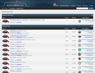 audicabrio.net screenshot