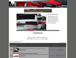 audifans.net screenshot