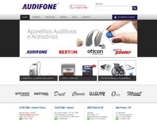 audifone.com.br screenshot