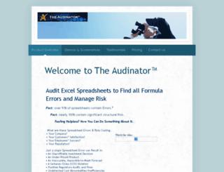 audinator.com screenshot