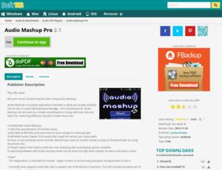 audio-mashup-pro.soft112.com screenshot
