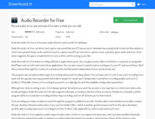audio-recorder-for-free.jaleco.com screenshot