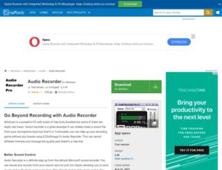 audio-recorder.en.softonic.com screenshot