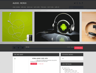audio.mcrio.vn screenshot
