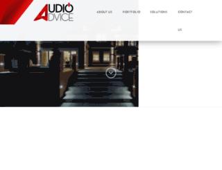 audioadvicellc.com screenshot