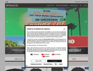 audioanabolika.bravado.de screenshot