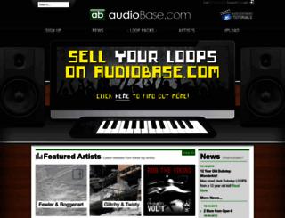 audiobase.com screenshot