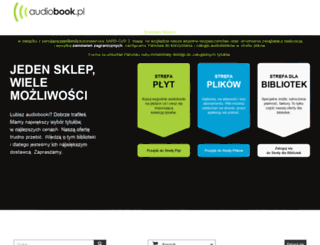 audiobook.pl screenshot