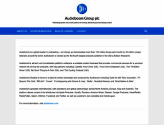 audioboomplc.com screenshot