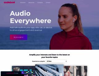 audioburst.com screenshot