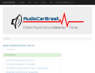 audiocarbrasil.com.br screenshot