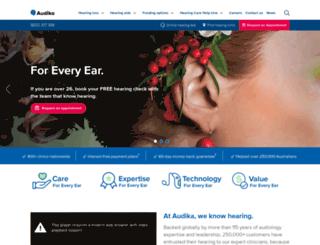 audioclinic.com.au screenshot
