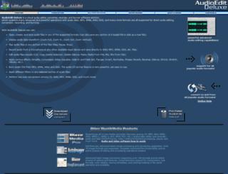 audioedit.mystikmedia.com screenshot