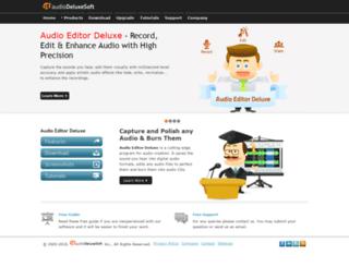 audioeditor.biz screenshot