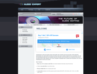 audioexpert.com screenshot