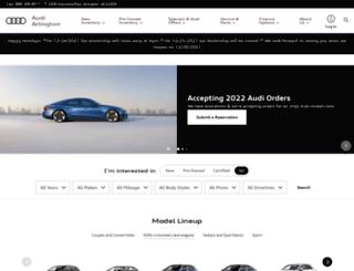 audiofarlington.com screenshot