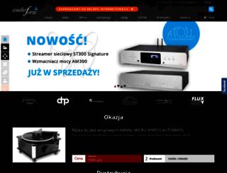audioforte.com.pl screenshot