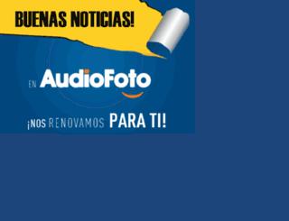 audiofoto.com screenshot