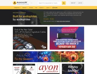 audiogon.herokuapp.com screenshot
