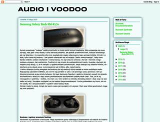 audioivoodoo.blogspot.com screenshot