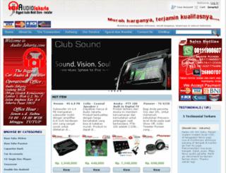 audiojakarta.com screenshot