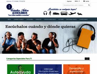 audiolibro.com.mx screenshot