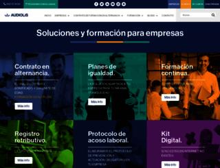 audiolis.com screenshot
