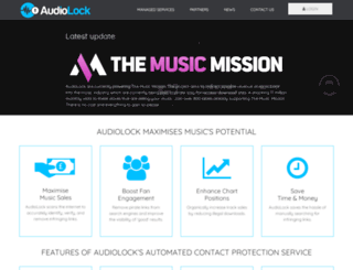 audiolock.net screenshot