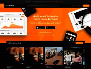 audiomack.com screenshot
