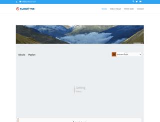 audionur.com screenshot