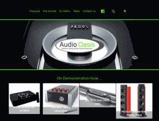 audiooasis.co.uk screenshot
