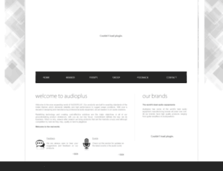 audioplus-india.com screenshot
