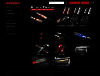 audioquest.com screenshot