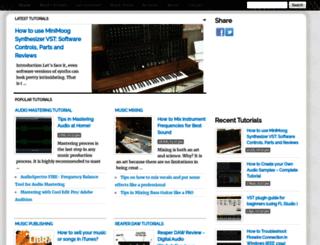 audiorecording.me screenshot