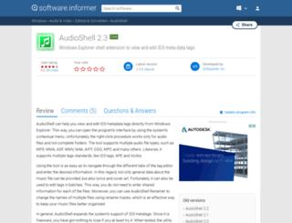 audioshell.software.informer.com screenshot