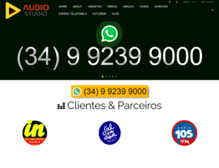 audiostudio.com.br screenshot
