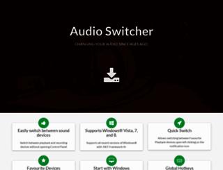 audioswit.ch screenshot