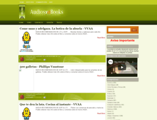 audiosyebooks.blogspot.com.es screenshot