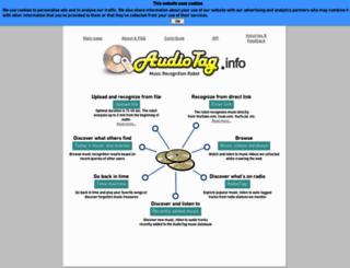 audiotag.info screenshot