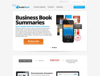 audiotech.com screenshot