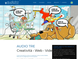 audiotre.com screenshot