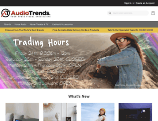 audiotrends.com.au screenshot