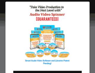audiovideospinner.net screenshot
