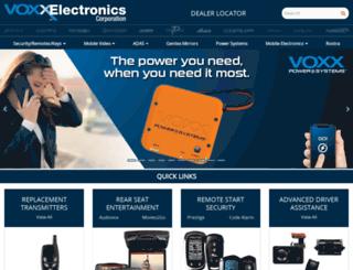 audiovoxproducts.com screenshot