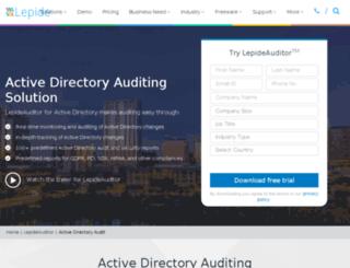 auditactivedirectory.com screenshot